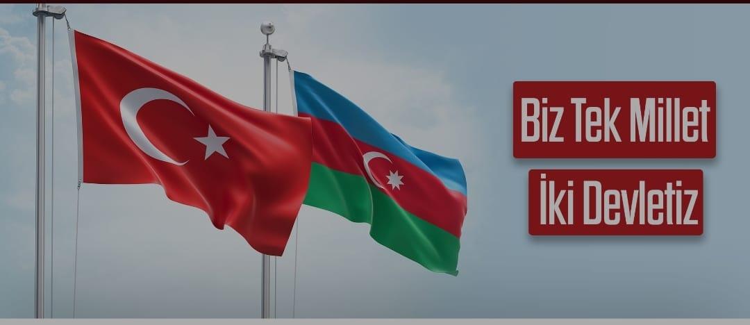 """ASLAN: """"KARDEŞ ÜLKE AZERBAYCAN İLE BERABERİZ"""""""