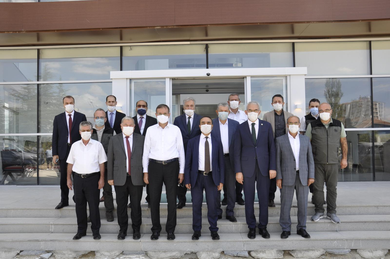 Genel Başkan Settar Aslan  Ankara Orman Bölge Müdürlüğünü ziyaret etti